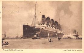 shp006085 - Cunard Line Ship Postcard Old Vintage Steamer Antique Post Card