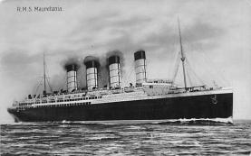 shp006087 - Cunard Line Ship Postcard Old Vintage Steamer Antique Post Card