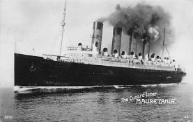 shp006093 - Cunard Line Ship Postcard Old Vintage Steamer Antique Post Card