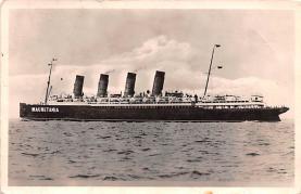 shp006097 - Cunard Line Ship Postcard Old Vintage Steamer Antique Post Card