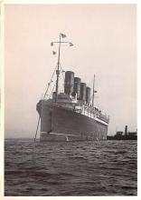 shp006109 - Cunard Line Ship Postcard Old Vintage Steamer Antique Post Card