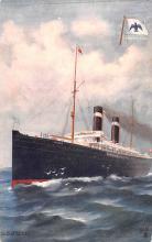 shp010065 - American Line Ship Postcard Old Vintage Antique Post Card
