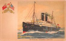 shp010193 - Anchor Line Ship Postcard Old Vintage Antique Post Card