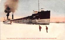shp010249 - Freighter Shipping Postcard Old Vintage Antique Post Card