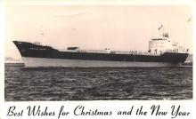 shp010311 - Freight Ship Postcard Old Vintage Antique Post Card