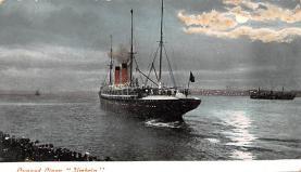 shp010435 - White Star Line Cunard Ship Post Card, Old Vintage Antique Postcard