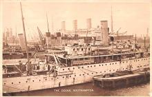 shp010445 - White Star Line Cunard Ship Post Card, Old Vintage Antique Postcard