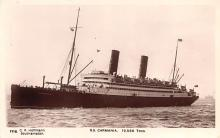 shp010451 - White Star Line Cunard Ship Post Card, Old Vintage Antique Postcard