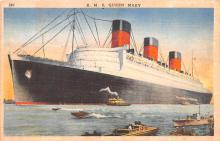 shp010457 - White Star Line Cunard Ship Post Card, Old Vintage Antique Postcard
