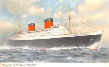 shp010459 - White Star Line Cunard Ship Post Card, Old Vintage Antique Postcard