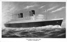 shp010463 - White Star Line Cunard Ship Post Card, Old Vintage Antique Postcard