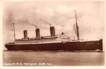 shp010469 - White Star Line Cunard Ship Post Card, Old Vintage Antique Postcard