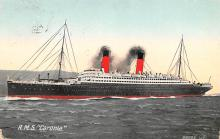 shp010481 - White Star Line Cunard Ship Post Card, Old Vintage Antique Postcard
