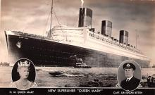 shp010485 - White Star Line Cunard Ship Post Card, Old Vintage Antique Postcard