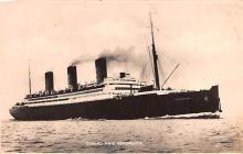 shp010571 - White Star Line Cunard Ship Post Card, Old Vintage Antique Postcard