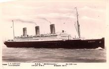 shp010587 - White Star Line Cunard Ship Post Card, Old Vintage Antique Postcard