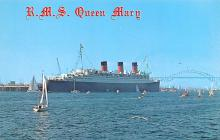 shp010711 - White Star Line Cunard Ship Post Card, Old Vintage Antique Postcard