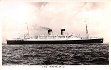 shp010745 - White Star Line Cunard Ship Post Card, Old Vintage Antique Postcard