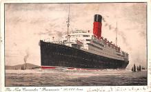shp010757 - White Star Line Cunard Ship Post Card, Old Vintage Antique Postcard