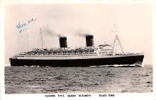 shp010887 - White Star Line Cunard Ship Post Card, Old Vintage Antique Postcard
