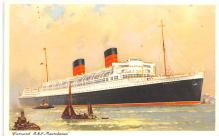 shp010955 - White Star Line Cunard Ship Post Card, Old Vintage Antique Postcard
