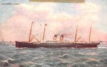 shp011093 - White Star Line Cunard Ship Post Card, Old Vintage Antique Postcard