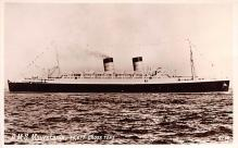 shp011113 - White Star Line Cunard Ship Post Card, Old Vintage Antique Postcard