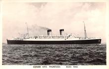shp011137 - White Star Line Cunard Ship Post Card, Old Vintage Antique Postcard