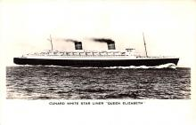 shp011165 - White Star Line Cunard Ship Post Card, Old Vintage Antique Postcard