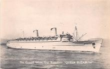 shp011209 - White Star Line Cunard Ship Post Card, Old Vintage Antique Postcard