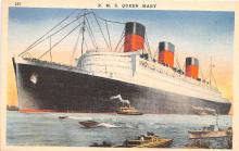 shp011253 - White Star Line Cunard Ship Post Card, Old Vintage Antique Postcard