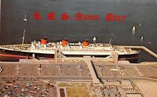 shp011265 - White Star Line Cunard Ship Post Card, Old Vintage Antique Postcard