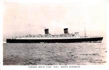 shp011267 - White Star Line Cunard Ship Post Card, Old Vintage Antique Postcard
