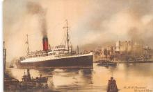 shp011279 - White Star Line Cunard Ship Post Card, Old Vintage Antique Postcard