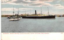 shp011305 - White Star Line Cunard Ship Post Card, Old Vintage Antique Postcard