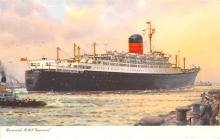 shp011359 - White Star Line Cunard Ship Post Card, Old Vintage Antique Postcard