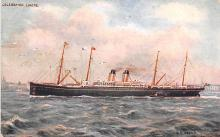 shp011371 - White Star Line Cunard Ship Post Card, Old Vintage Antique Postcard