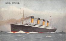 shpp002011 - White Star Line Ship Postcard Old Vintage Steamer Antique Post Card