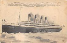 shpp002017 - White Star Line Ship Postcard Old Vintage Steamer Antique Post Card