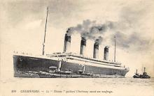 shpp002019 - White Star Line Ship Postcard Old Vintage Steamer Antique Post Card