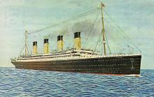 shpp002031 - White Star Line Ship Postcard Old Vintage Steamer Antique Post Card