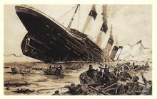 shpp002039 - White Star Line Ship Postcard Old Vintage Steamer Antique Post Card