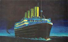 shpp002041 - White Star Line Ship Postcard Old Vintage Steamer Antique Post Card