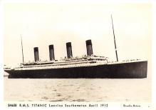 shpp002055 - White Star Line Ship Postcard Old Vintage Steamer Antique Post Card