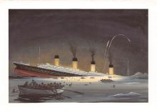 shpp002057 - White Star Line Ship Postcard Old Vintage Steamer Antique Post Card