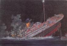 shpp002061 - White Star Line Ship Postcard Old Vintage Steamer Antique Post Card