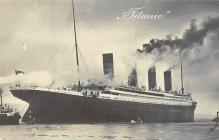 shpp002063 - White Star Line Ship Postcard Old Vintage Steamer Antique Post Card