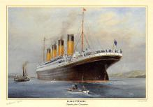 shpp002071 - White Star Line Ship Postcard Old Vintage Steamer Antique Post Card