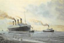 shpp002079 - White Star Line Ship Postcard Old Vintage Steamer Antique Post Card