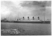 shpp002091 - White Star Line Ship Postcard Old Vintage Steamer Antique Post Card